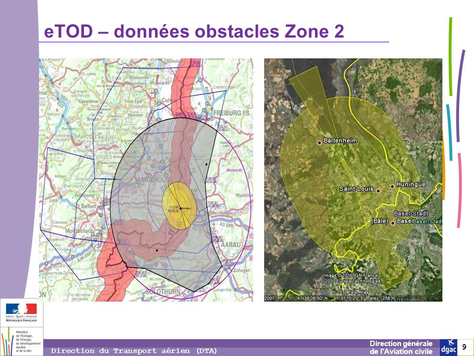 eTOD – données obstacles Zone 2