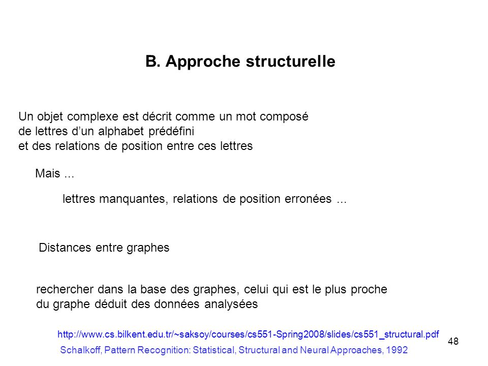 B. Approche structurelle