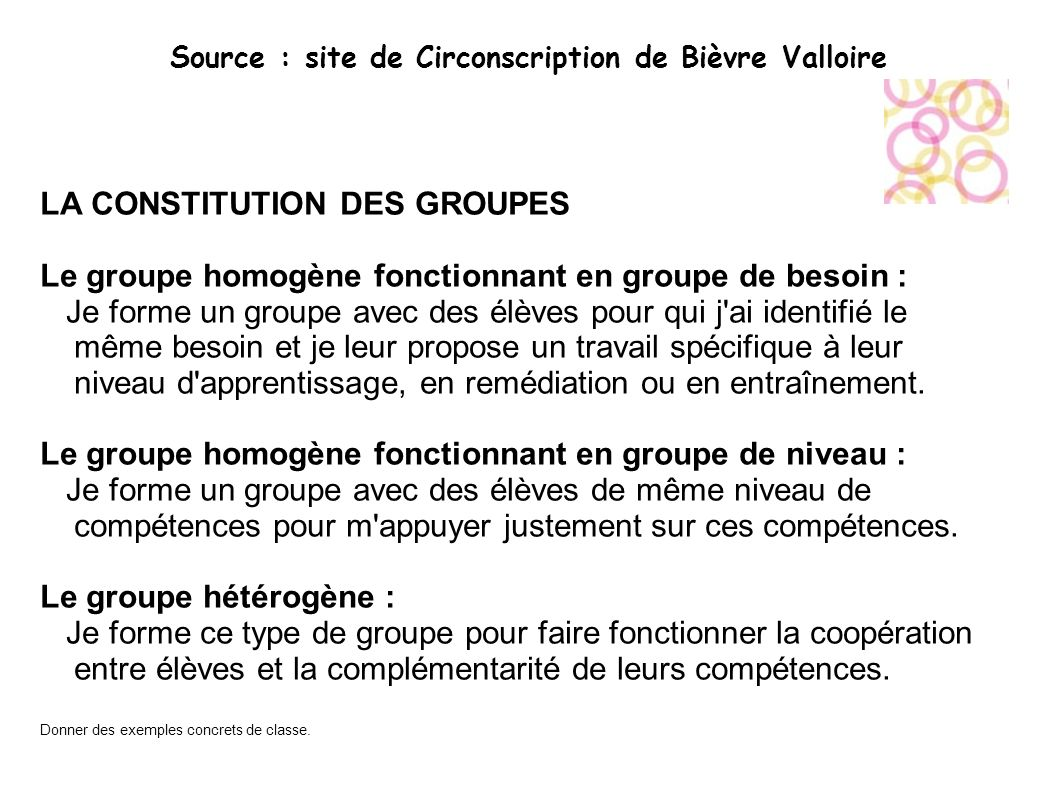 Source : site de Circonscription de Bièvre Valloire