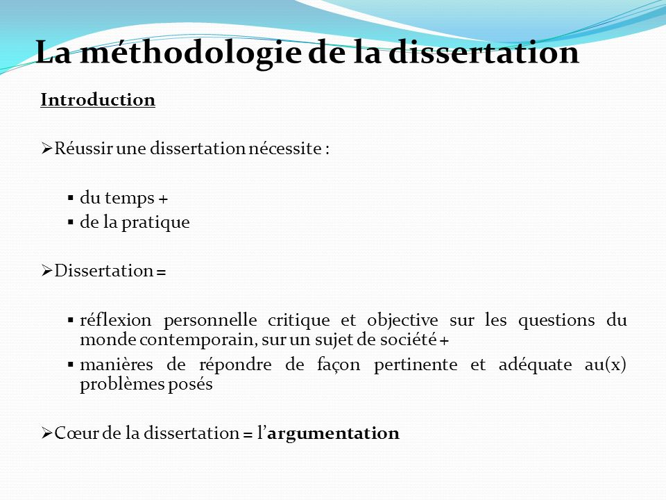 Analyse sujet dissertation ses
