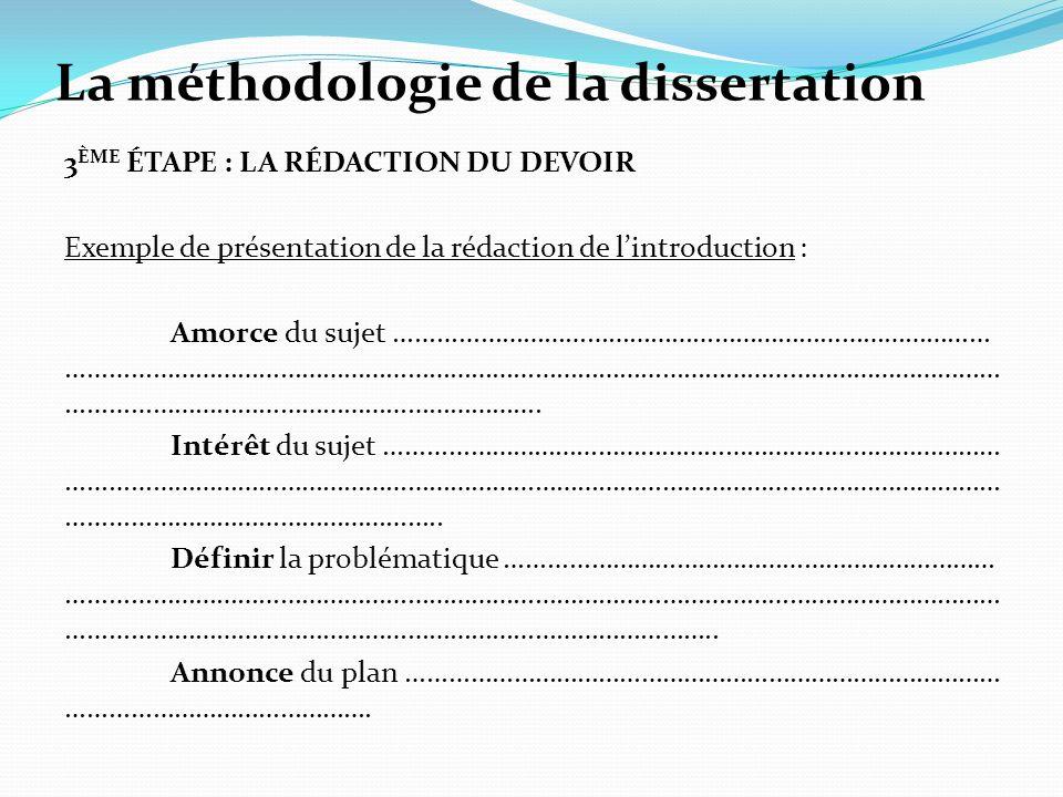 Dissertation sujet posie