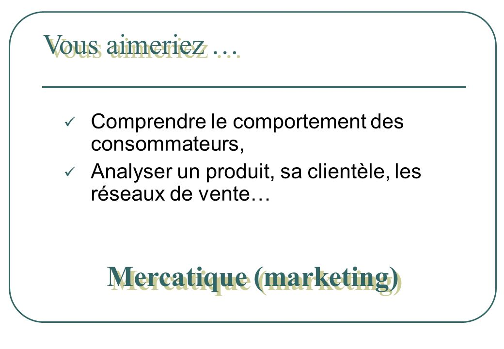 Mercatique (marketing)