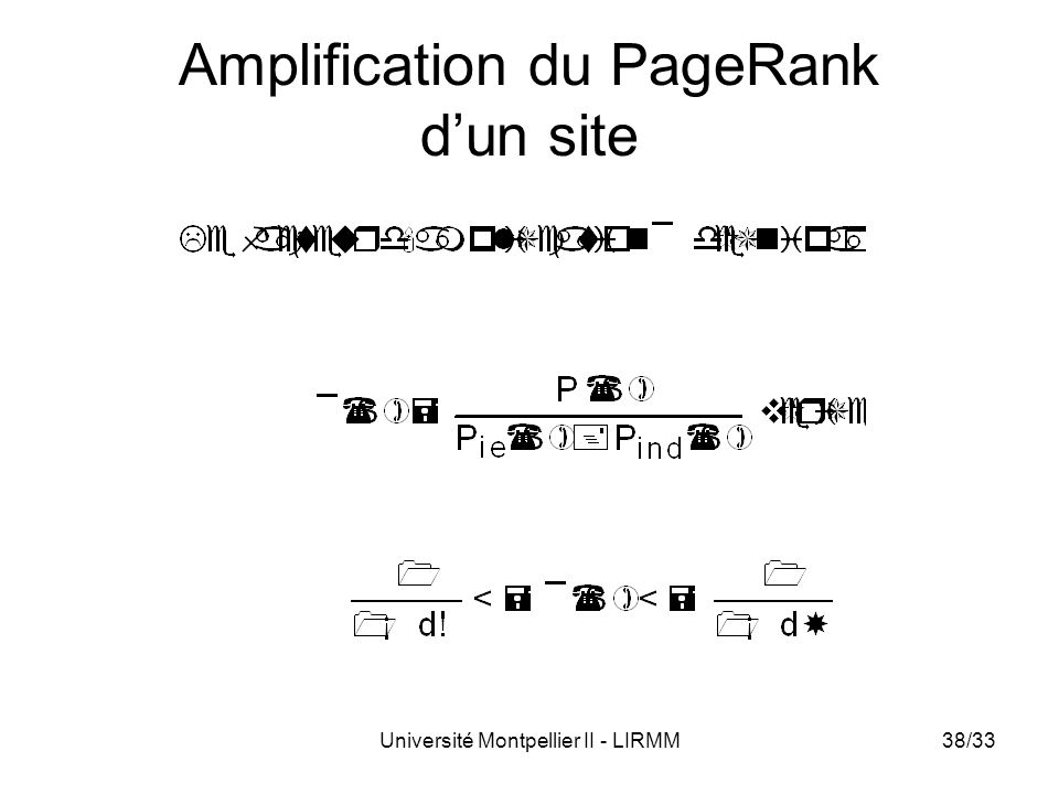 Amplification du PageRank d'un site