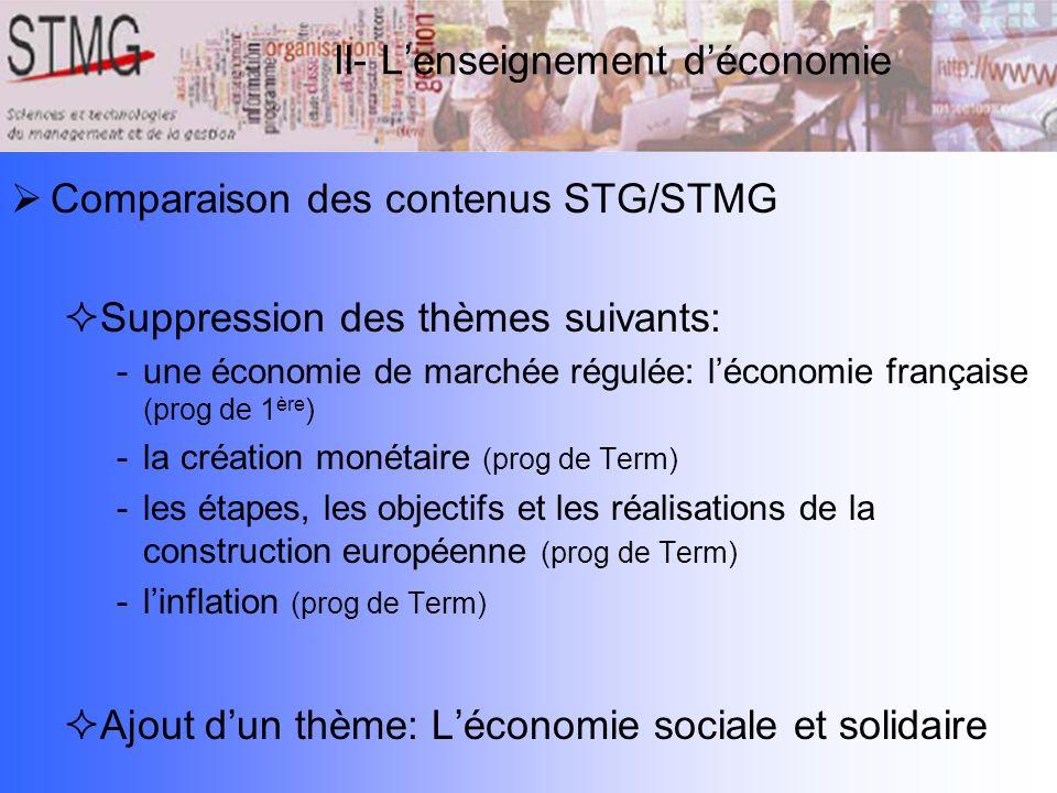 Les Enseignements D Economie Et Droit En Stmg Ppt Telecharger