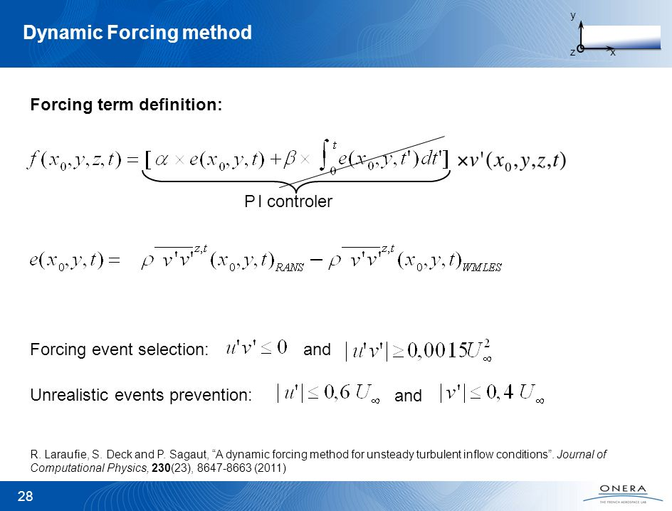 Dynamic Forcing method