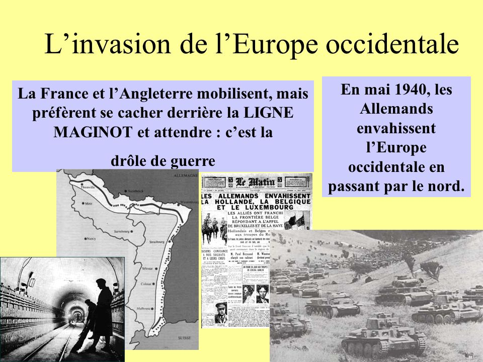 L'invasion de l'Europe occidentale