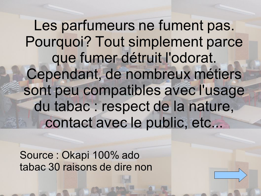 Source : Okapi 100% ado tabac 30 raisons de dire non
