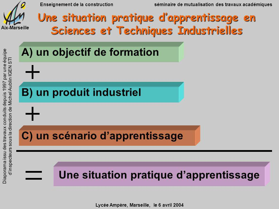 Une situation pratique d'apprentissage