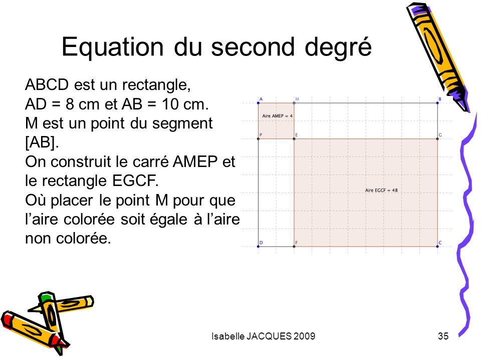 Equation du second degré