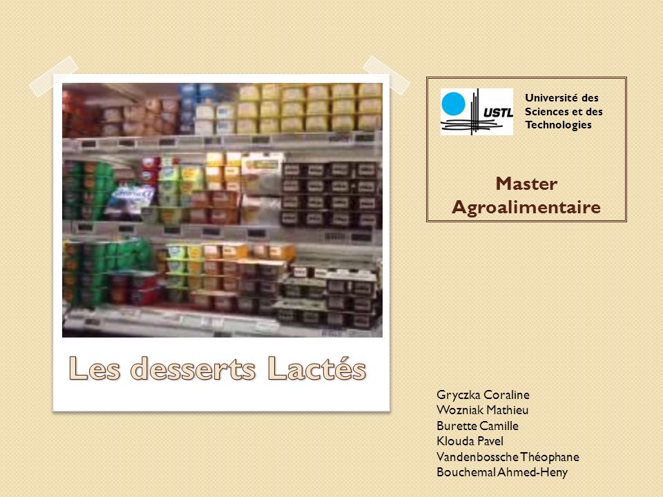 Master Agroalimentaire