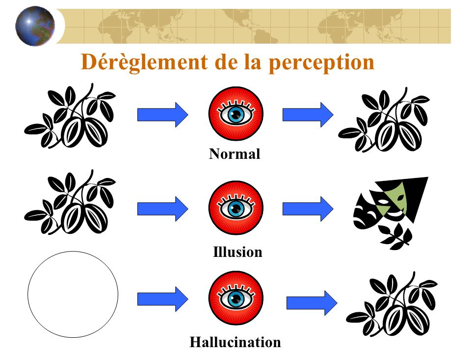 Dérèglement de la perception