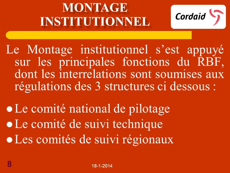 Montage institutionnel