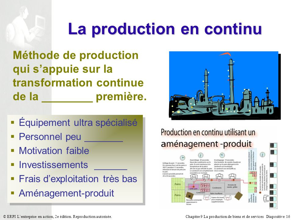 La production en continu