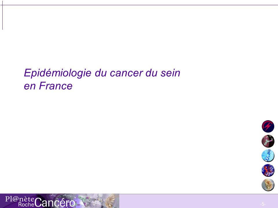 Epidémiologie du cancer du sein en France