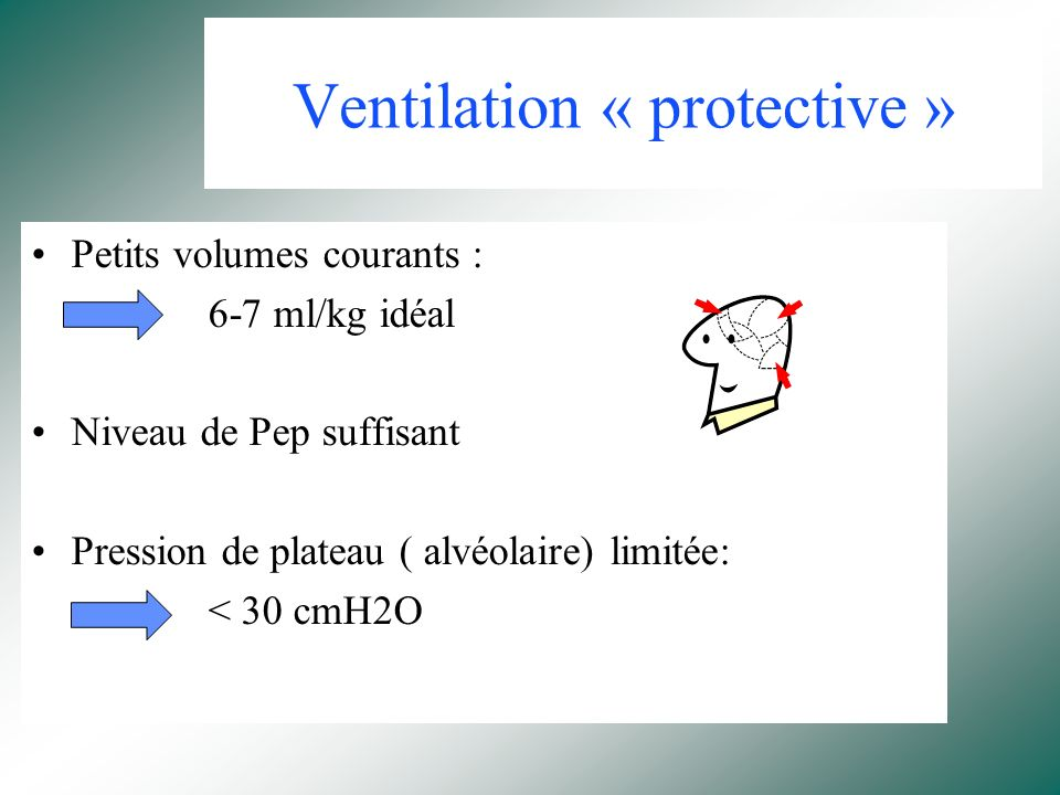 Ventilation « protective »