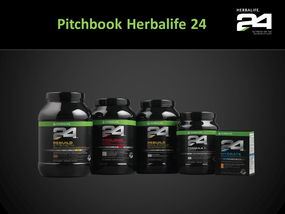 Pitchbook Herbalife 24 Welcome to Herbalife24