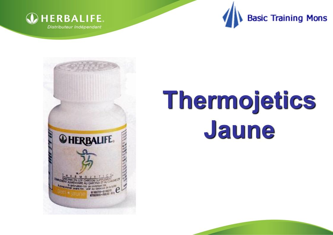 Thermojetics Jaune