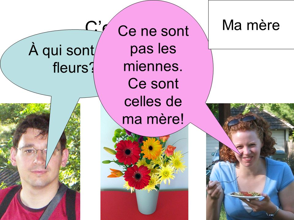 Les Pronoms Possessifs Ppt Video Online Telecharger