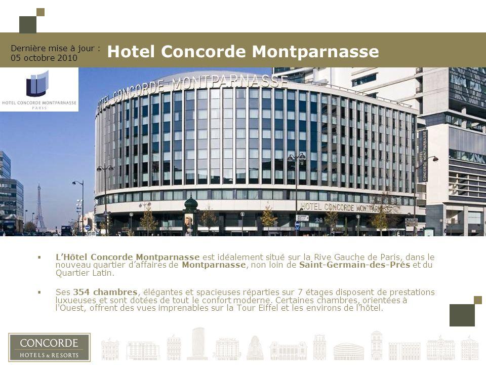 Hotel Concorde Montparnasse Ppt Telecharger