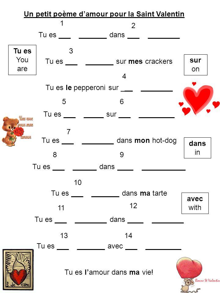 Un Petit Poème Damour Pour La Saint Valentin Ppt Télécharger
