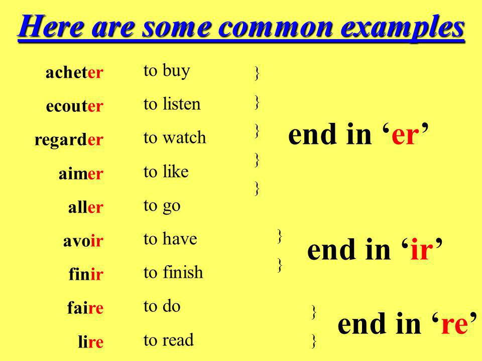 Here are some common examples