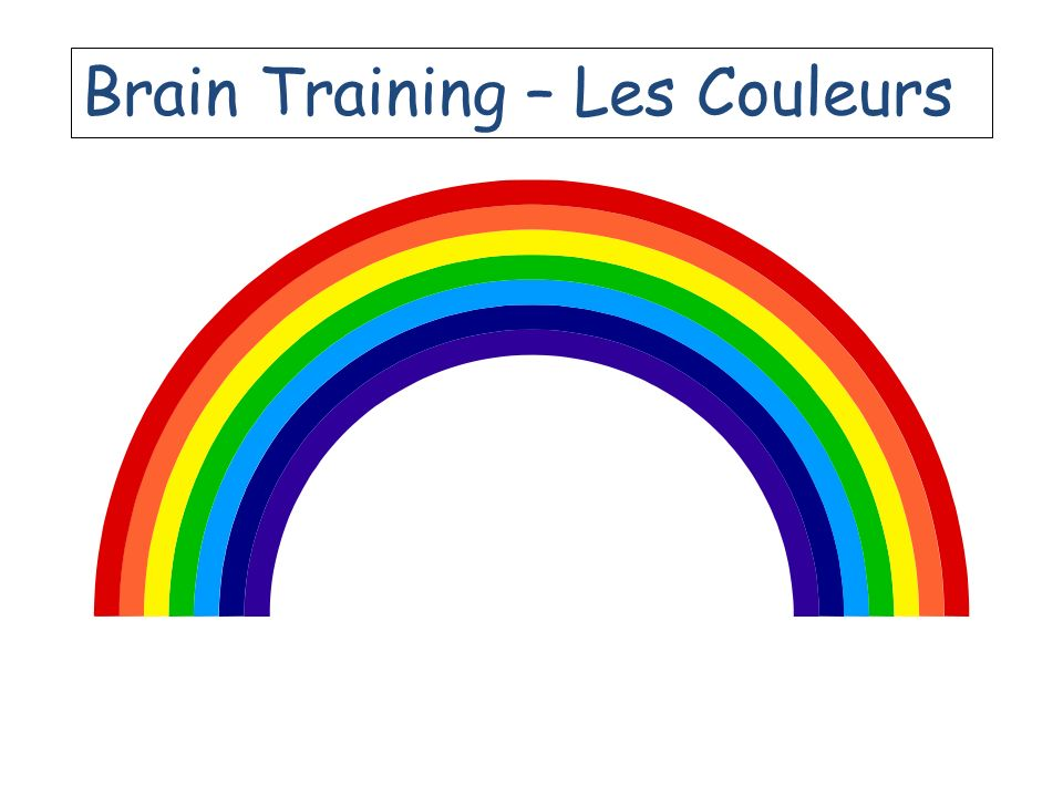 Brain Training – Les Couleurs