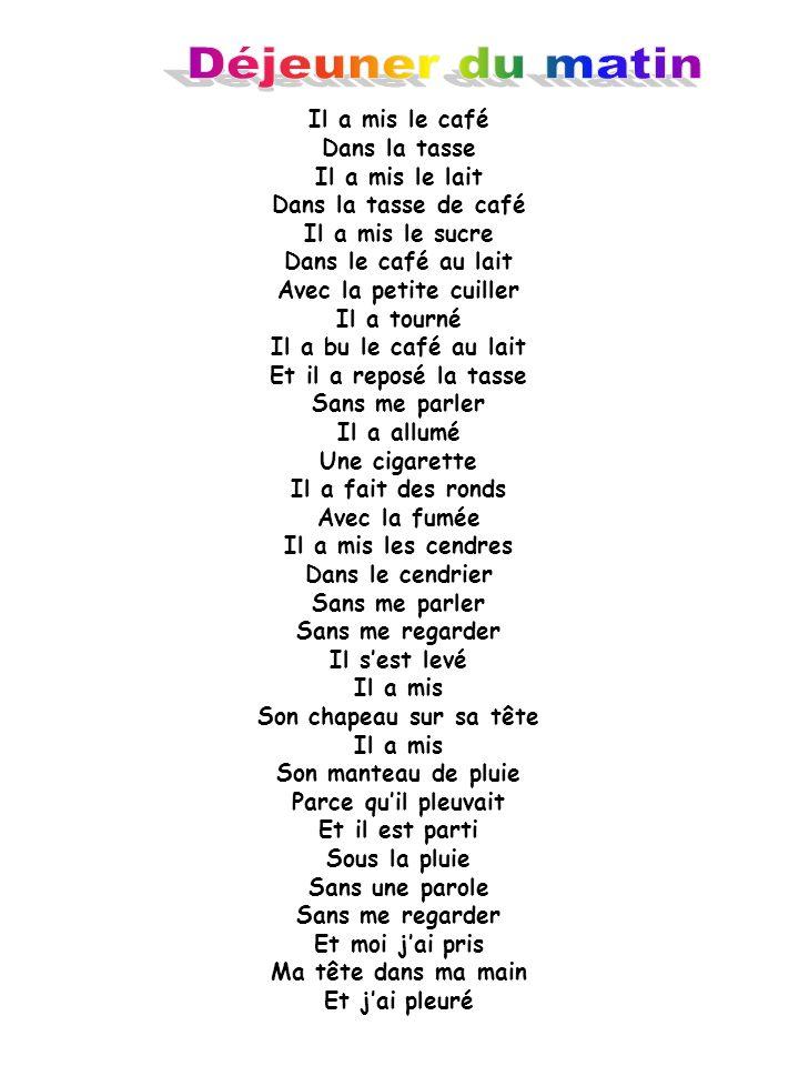 Un Poème De Jacques Prévert Ppt Video Online Télécharger