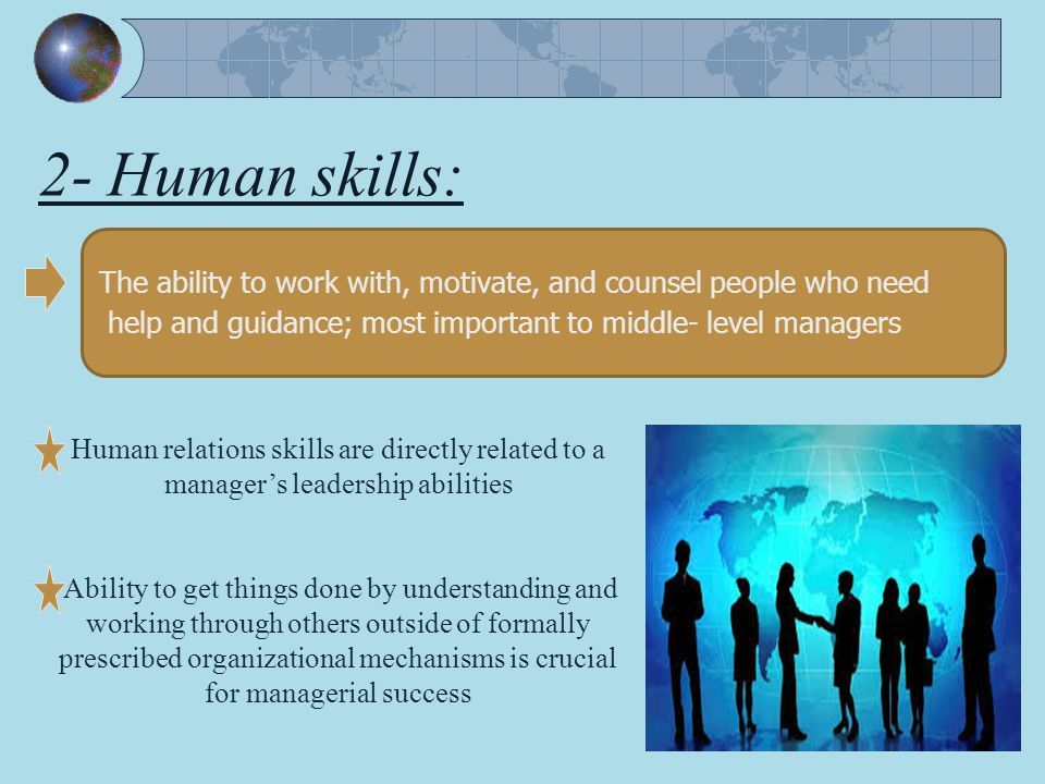 What Are Human Skills in Management Definition - mandegar info