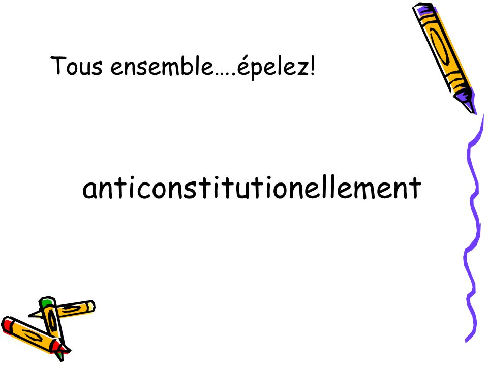 anticonstitutionellement