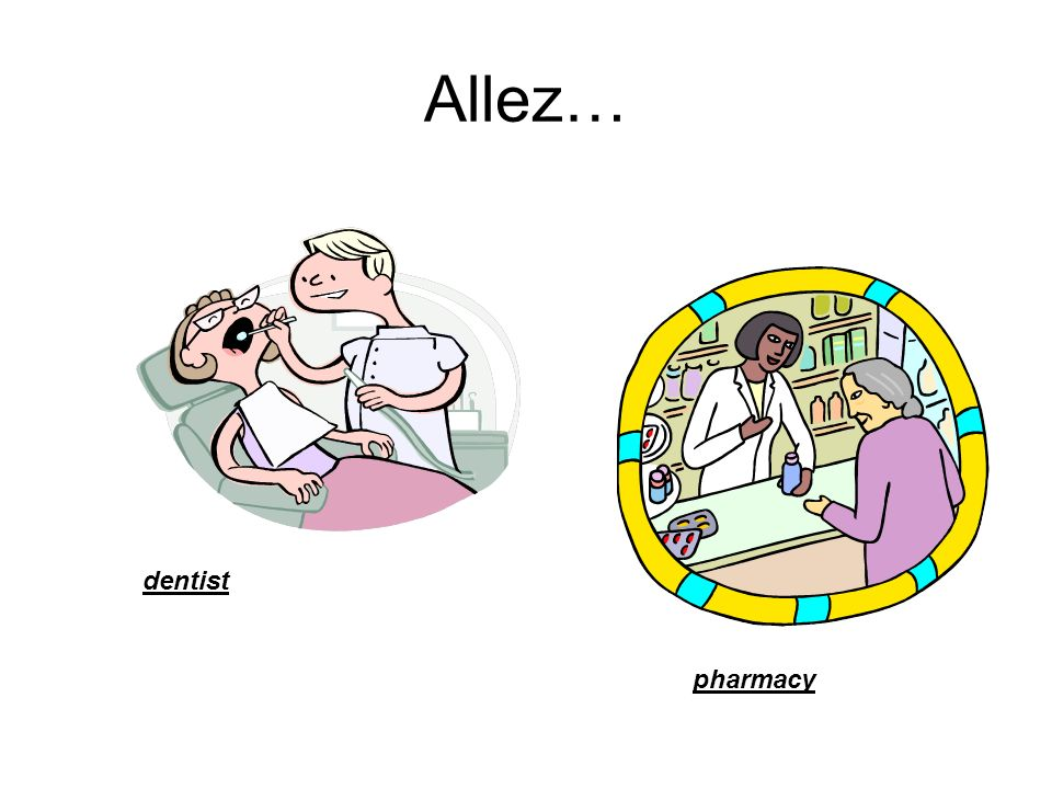 Allez… dentist pharmacy