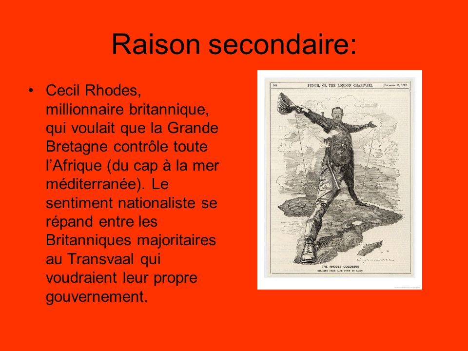 Raison secondaire: