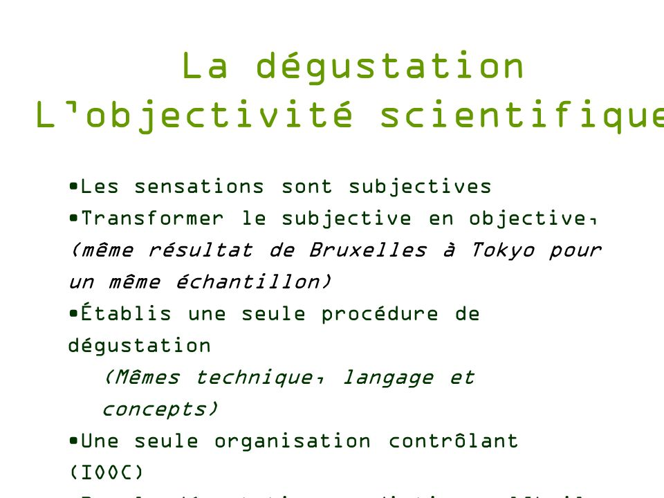 L'objectivité scientifique