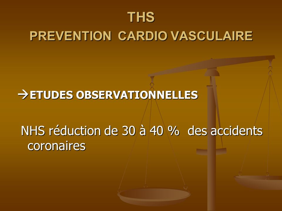 THS PREVENTION CARDIO VASCULAIRE