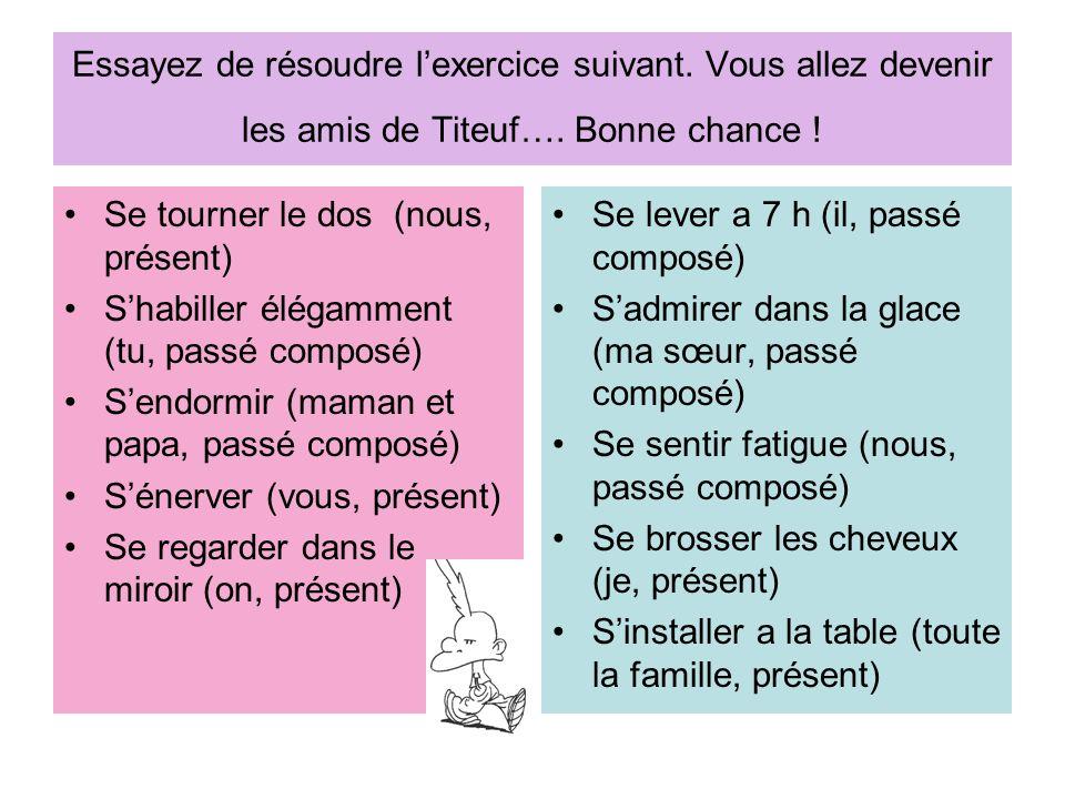 französisch grammatik passe compose