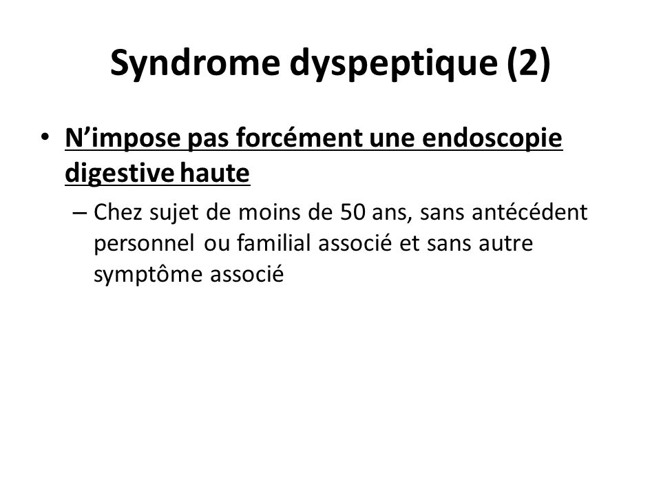 Syndrome dyspeptique (2)