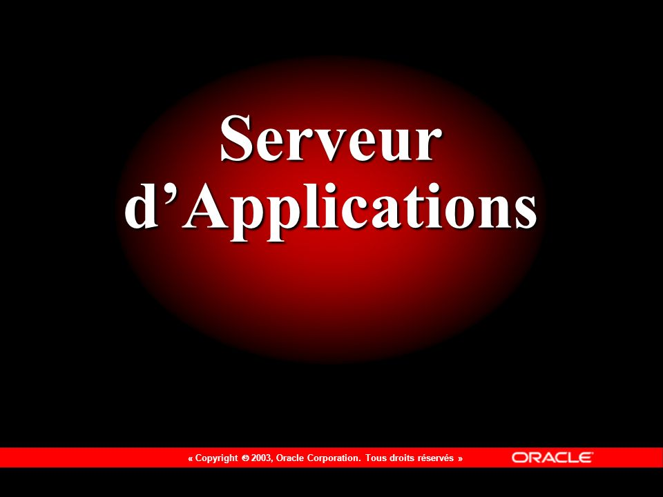 Serveur d'Applications
