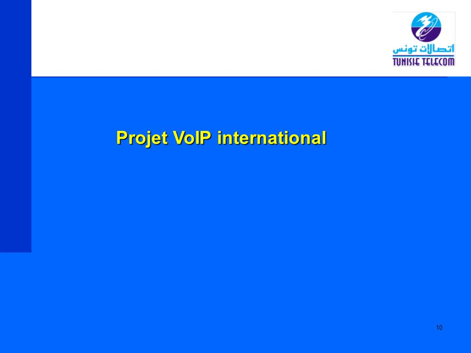 Projet VoIP international