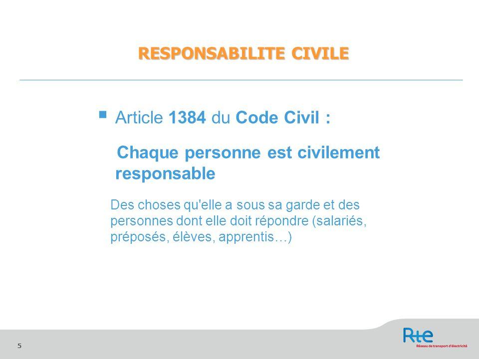 responsabilites civile et penale ppt video online t l charger. Black Bedroom Furniture Sets. Home Design Ideas