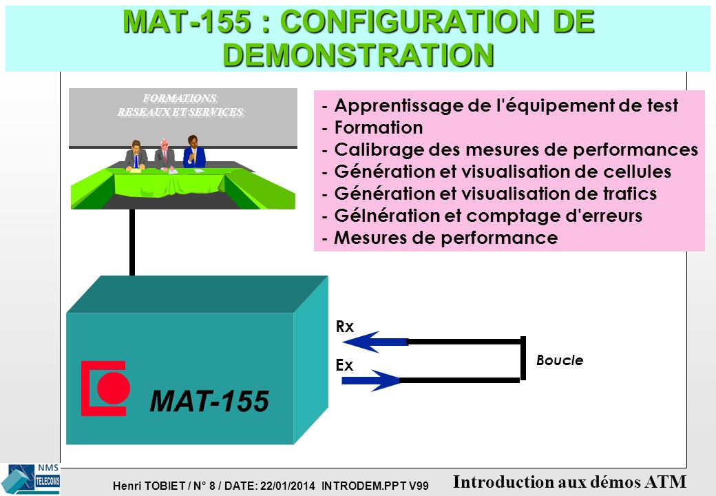 MAT-155 : CONFIGURATION DE DEMONSTRATION