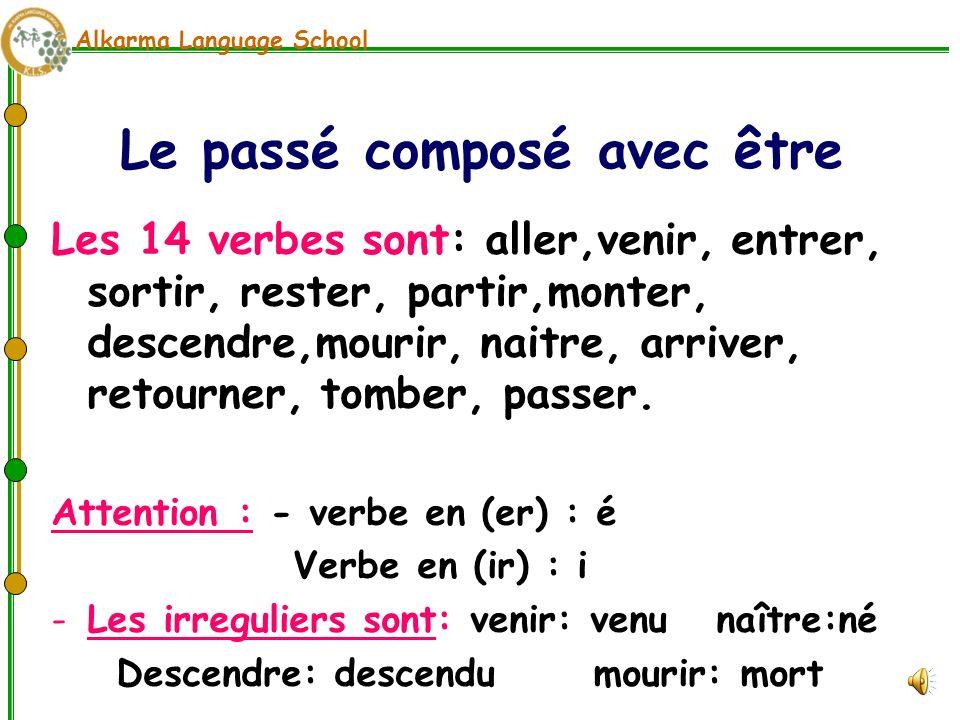 Passé composé - Passé composé z czasownikiem être 2 - Francuski przy kawie