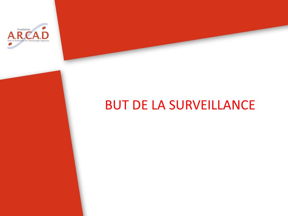 BUT DE LA SURVEILLANCE