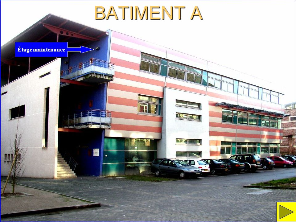 BATIMENT A Étage maintenance