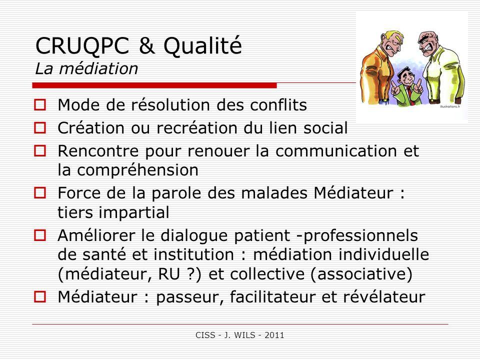 Rencontres francophones sur la qualite et la mesure