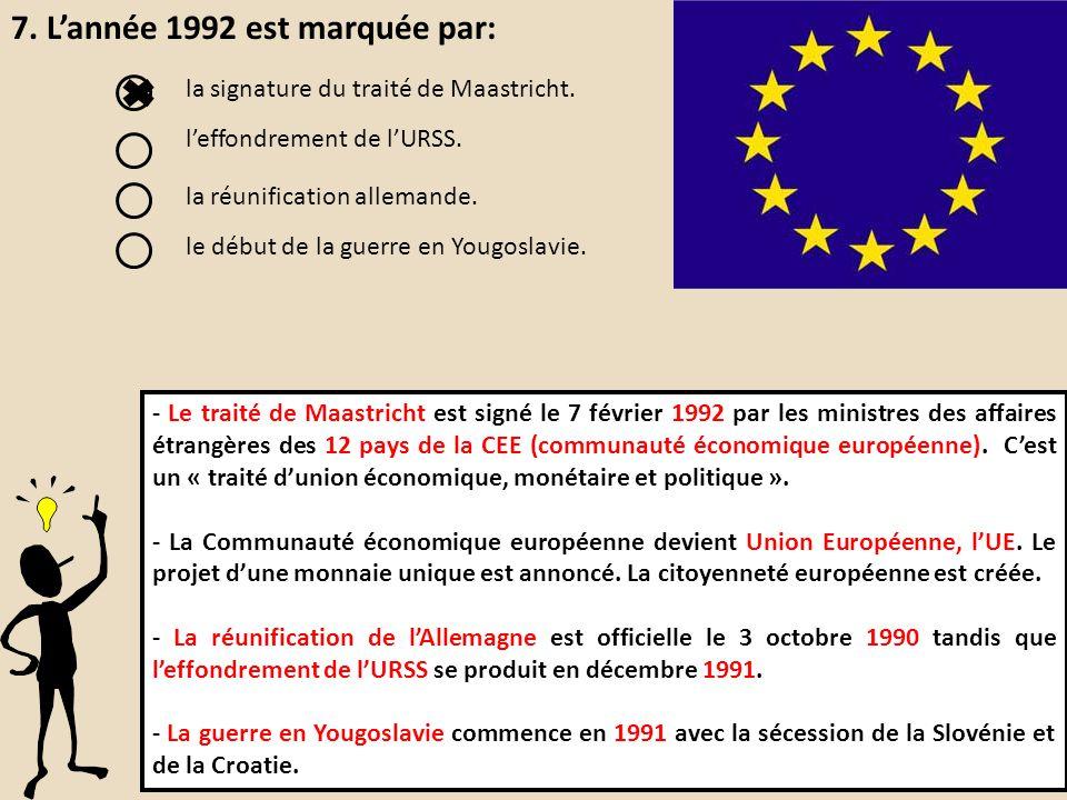 réunification allemande 1990