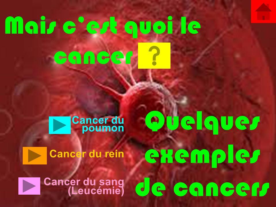 cancer c quoi
