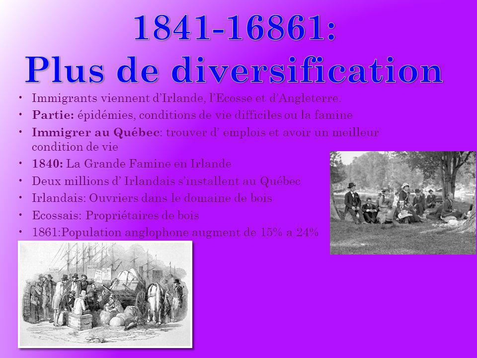 Plus de diversification