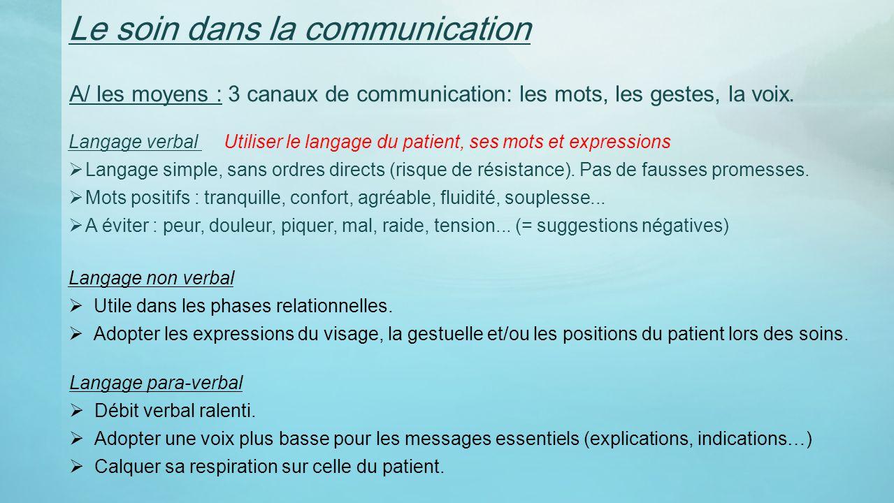 relation et communication avec la personne 226g233e ppt