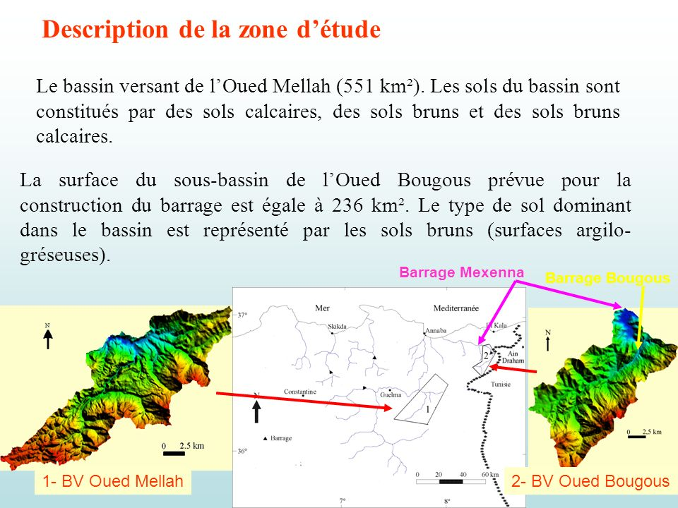 Description de la zone d'étude
