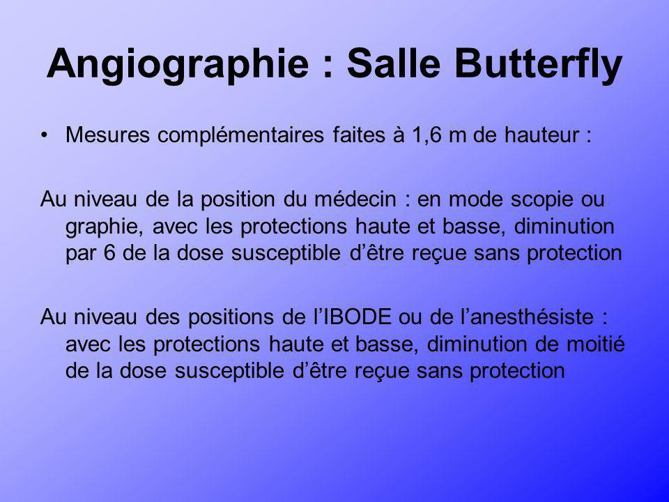 Angiographie : Salle Butterfly