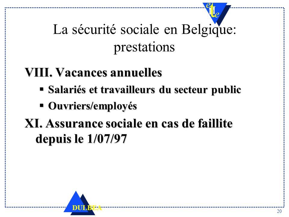 double pecule employe belgique